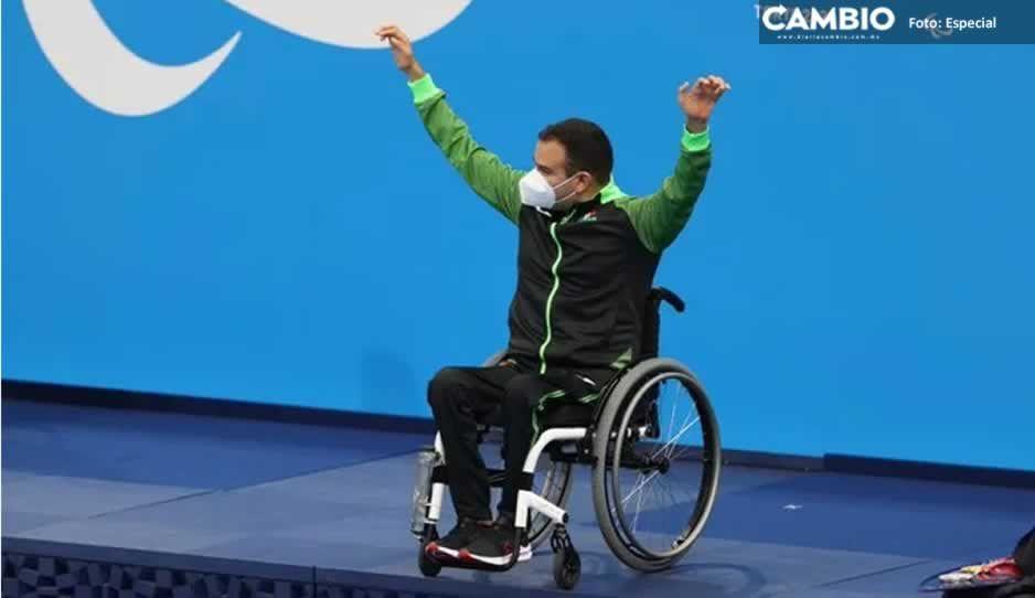 ¡Sigue la cosecha de medallas! Diego López logra la séptima presea paralímpica para México