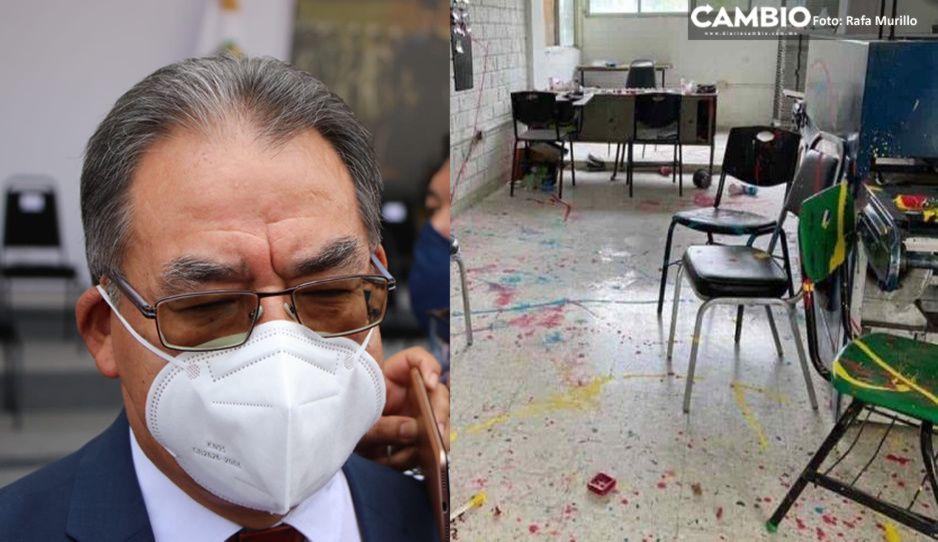 Delincuentes aprovecharon la pandemia para saquear 60 escuelas de Puebla en un año