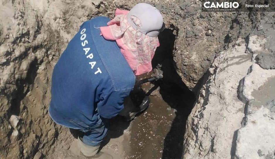OOSAPAT dejará sin agua a 24 familias por tener adeudos en Tehuacán