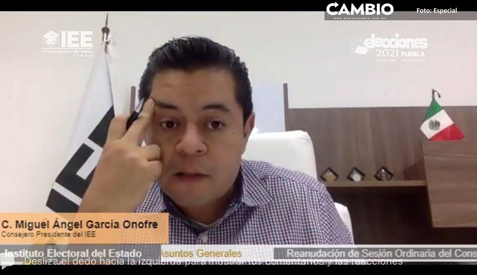 Comités municipales de Teotlalco y Miahuatlan están tomados, alerta el IEE