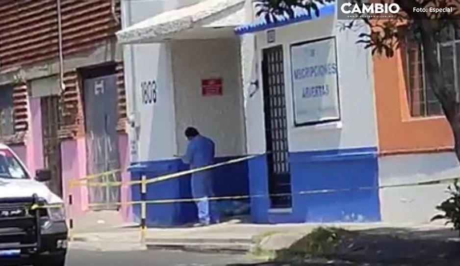 Con huellas de tortura localizan un cadáver en la entrada del ITEX en Xonaca