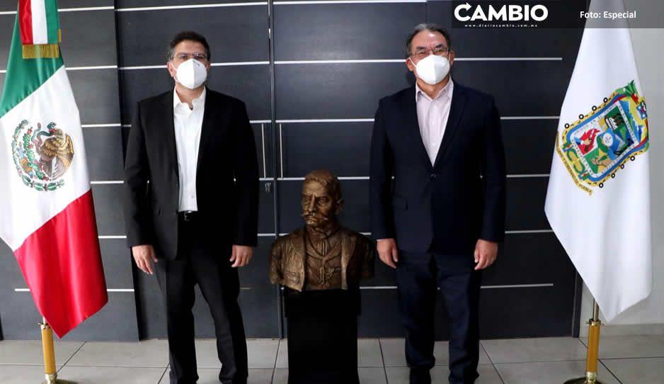 Ríos Piter revela que recuperaron las cuentas bancarias de la UDLAP