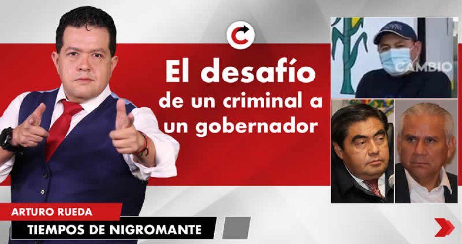 El desafío de un criminal a un gobernador