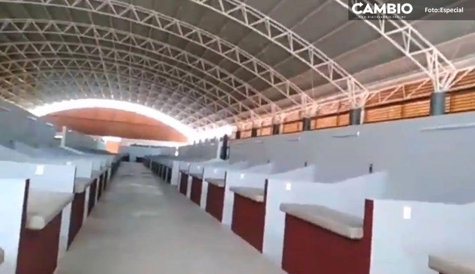 Mercado municipal de San Andrés Cholula se inaugurará a finales de Junio: Karina Pérez