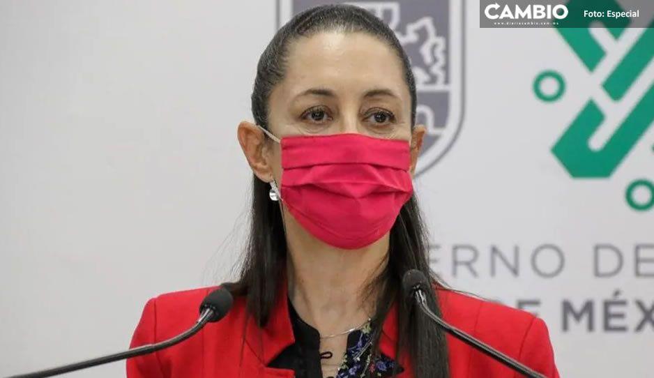 """Ante alza de contagios, Claudia Sheinbaum rechaza semáforo rojo en CDMX: """"estamos en naranja"""""""