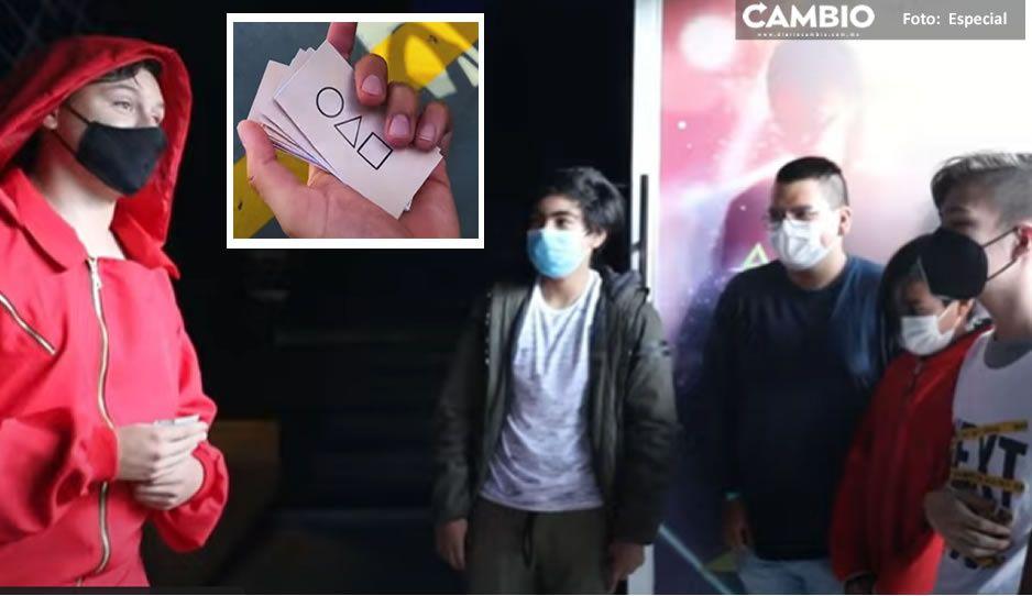 """VIDEOS: Así es como youtuber mexicano recrea """"El Juego del Calamar"""""""