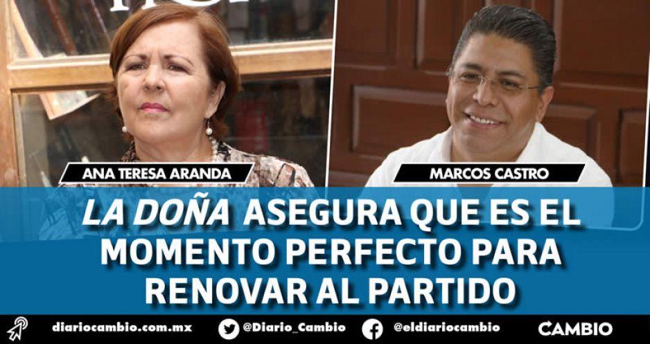 Perfilan a Anatere y Marcos Castro como la fórmula del Yunque en el proceso del PAN