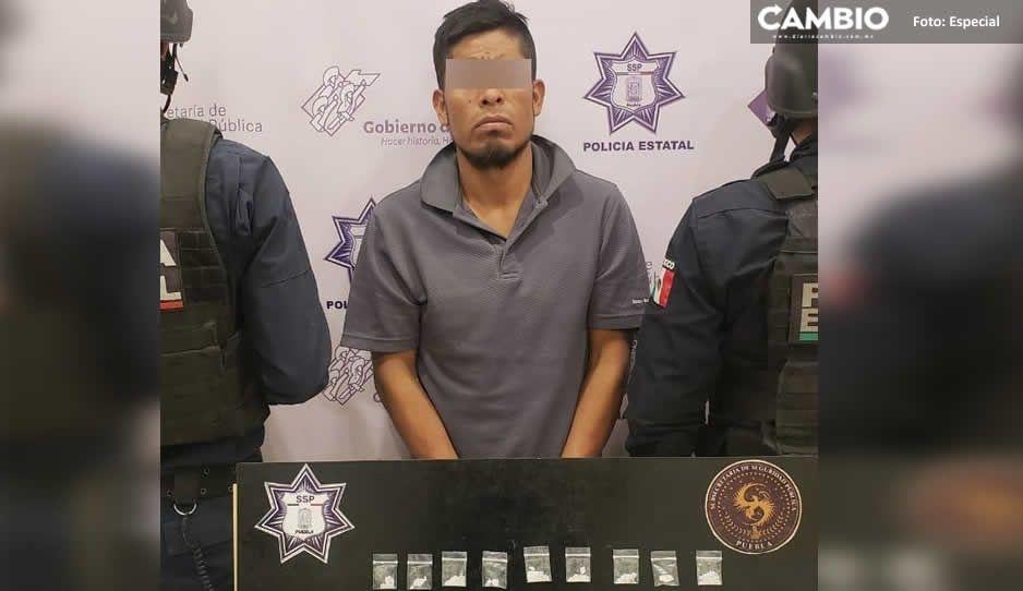 Atrapan a El Toño, uno de los mayores distribuidores de droga en Altepexi