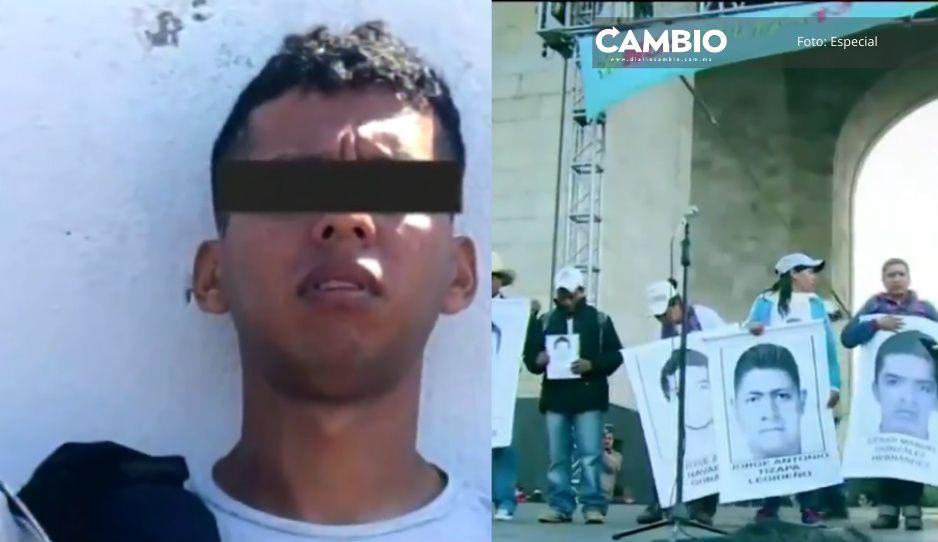 Ya no los busquen porque quemamos a todos: cómplice de Guerreros Unidos detalla caso Ayotzinapa