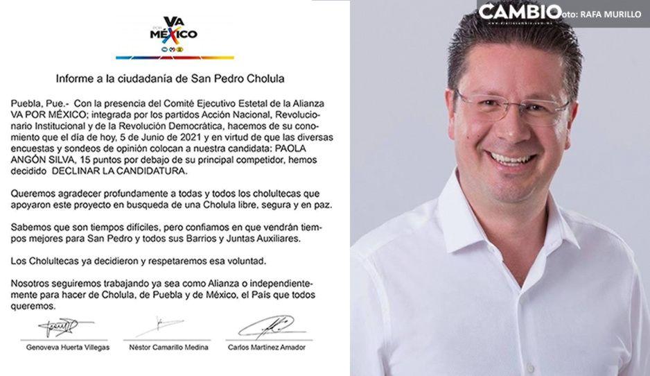 Julio Lorenzini se apanica: falsifican firmas de dirigentes del PRIAN en comunicado fake de Paola Angón