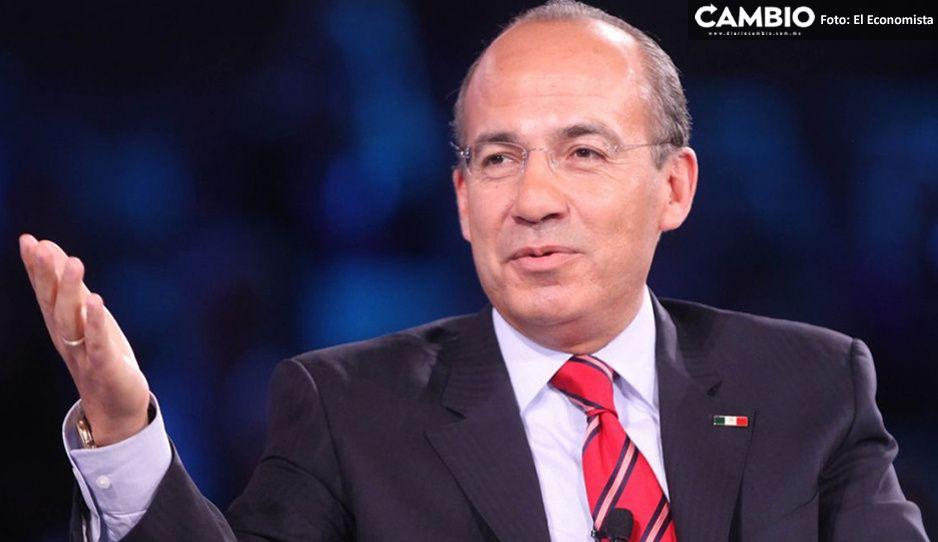 Felipe Calderón a revisión al hospital tras contagiarse de covid