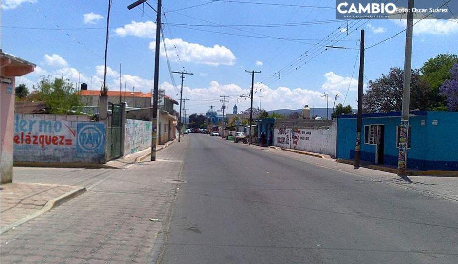 Pánico en Tepeyahualco: balacera entre delincuentes deja a una abuelita herida