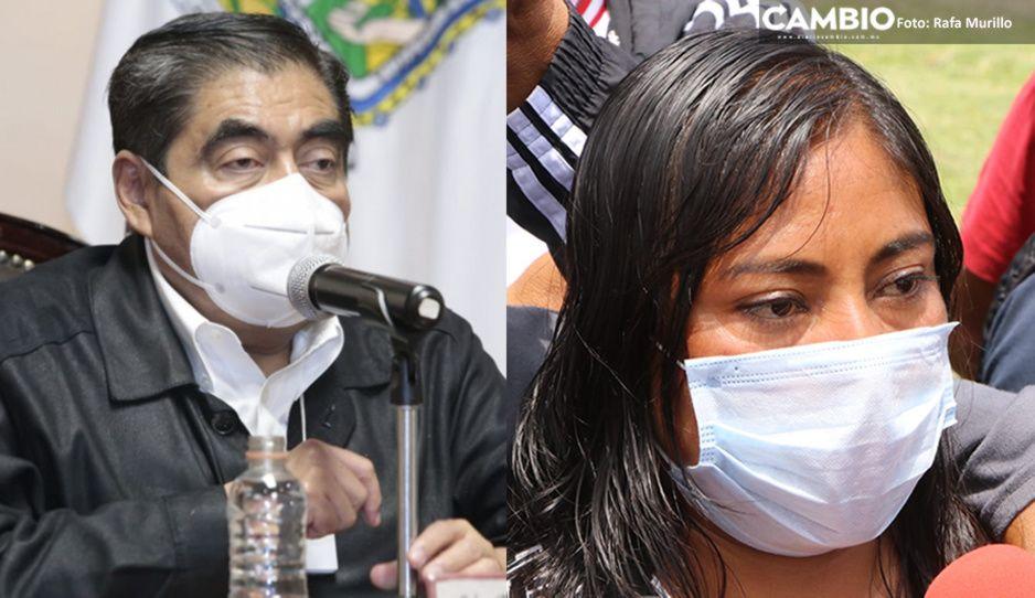 Exige Barbosa investigar a estafadores de la familia afectada por el socavón