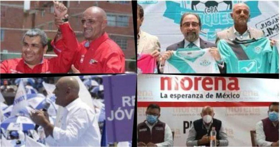 Chelís saltimbanqui: apoyó al PRI en 2010, al PAN en 2016 y ahora a Morena en 2021