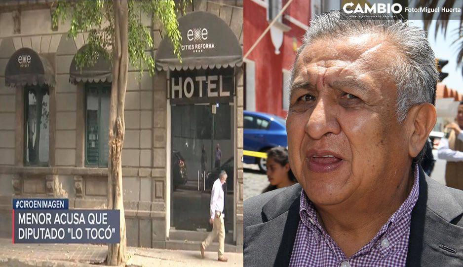 Menor ratifica denuncia por abuso sexual contra Saúl Huerta ante la Fiscalía