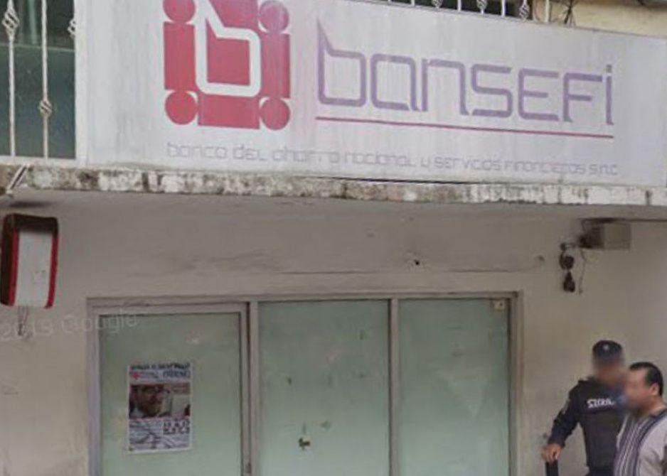 Comando atraca Banco del Bienestar en Huauchinango; se llevaron cerca de 10 millones de pesos