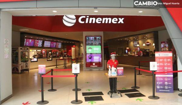 Cinemex cierra operaciones en Puebla por la pandemia...¡ya ni llorar es  bueno!