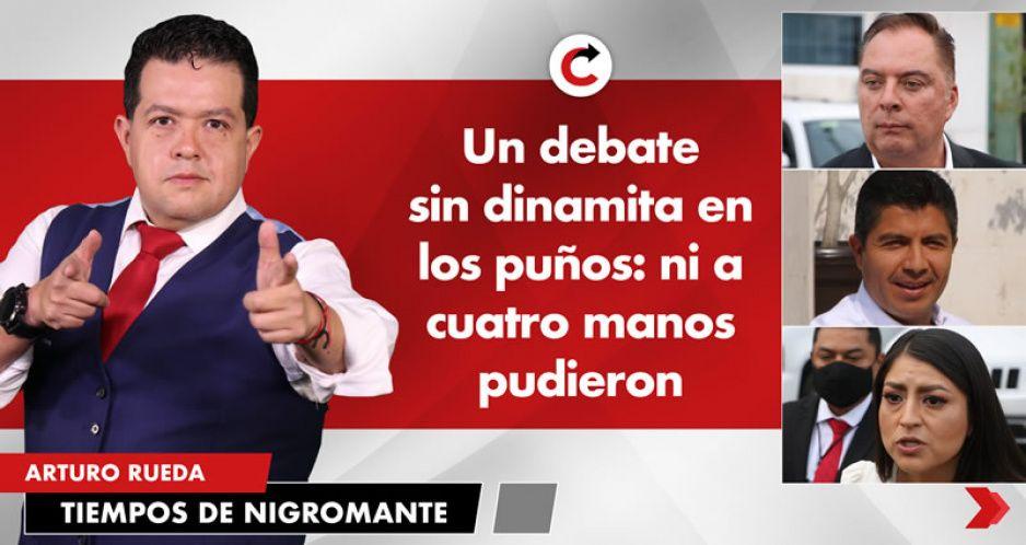 Un debate sin dinamita en los puños: ni a cuatro manos pudieron