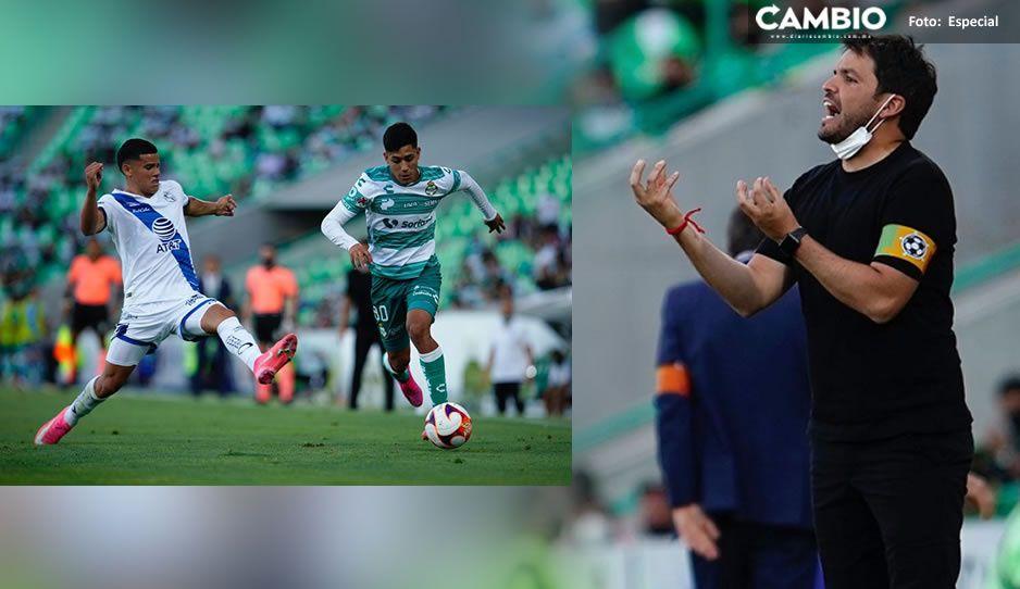 Amarra Puebla su pase a liguilla con el empate a ceros en el calor infernal de Santos ¡Te amamos Larcamón!