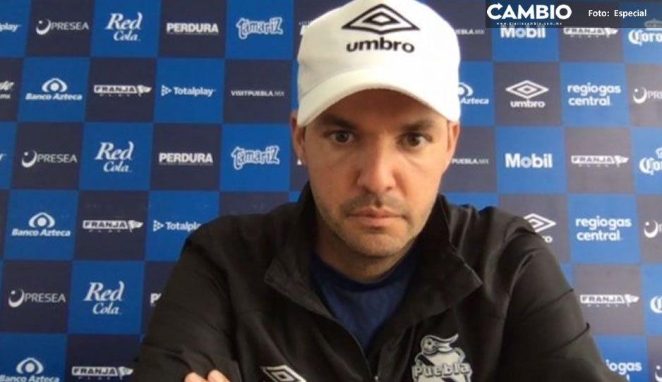 """Iván """"Araña"""" Rodríguez será el portero titular para el Puebla vs Atlético de San Luis: Larcamón"""