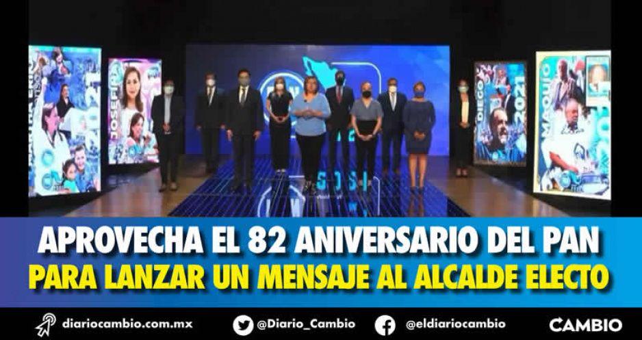 Genoveva embiste a Lalo usando a Moreno Valle de inspiración: nadie fuera del PAN se inmiscuirá en 2024 (VIDEO)