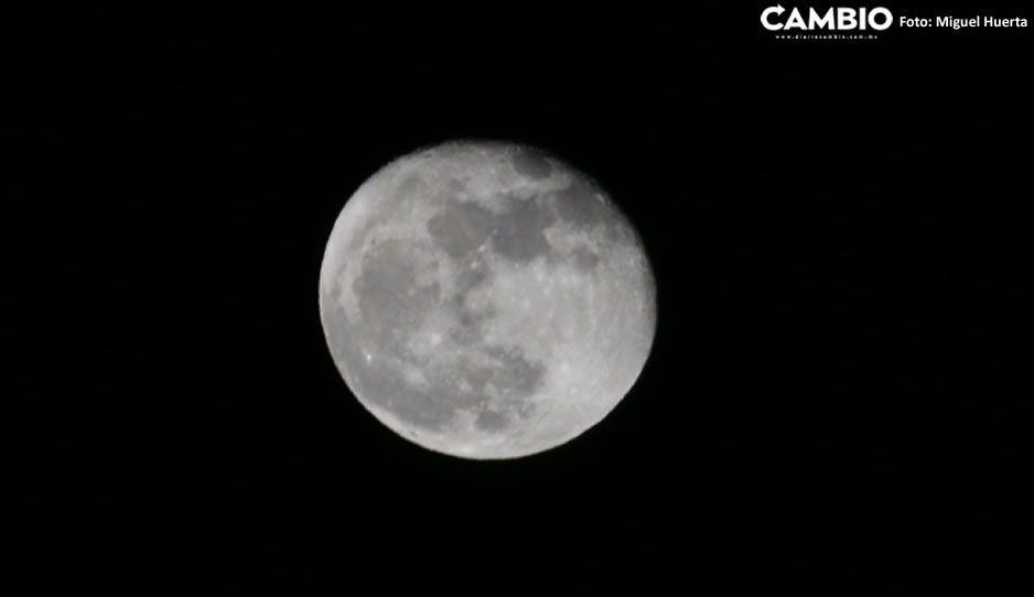 ¡Qué bonito! Así luce de espectacular la primera luna de Otoño (FOTOS)