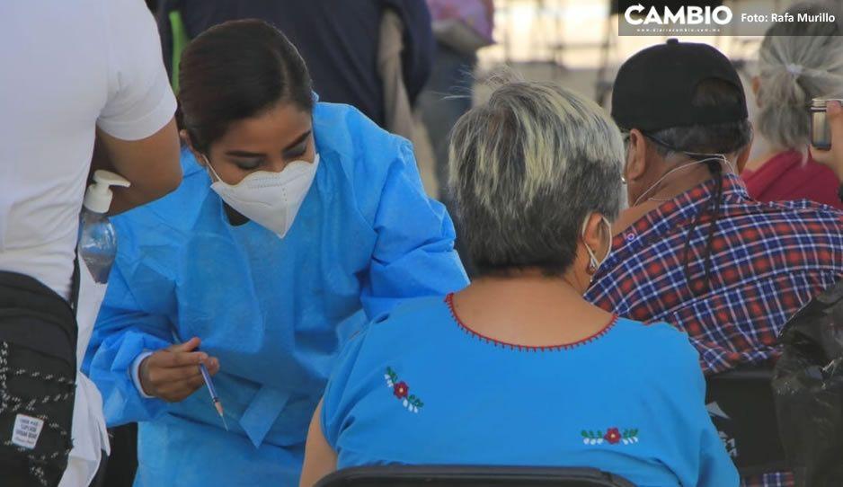 Sin contratiempos; inicia la segunda jornada de vacunación AntiCovid en San Pedro Cholula (VIDEO)
