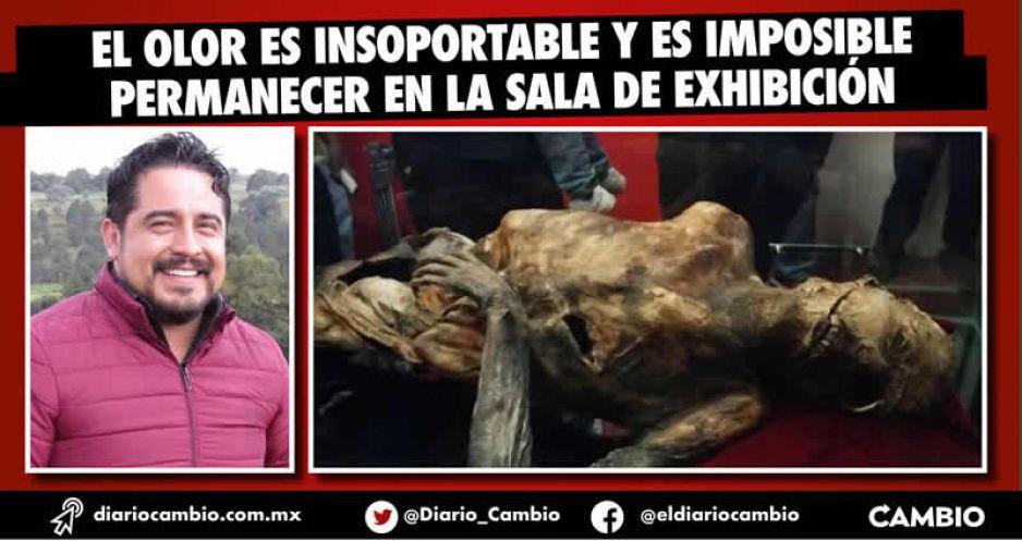 Por culpa de Tentle la momia del Citlaltépetl se pudre (VIDEO)