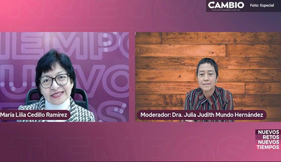Lilia Cedillo propone crear convenios con IP para servicio social y prácticas profesionales de estudiantes (VIDEO)