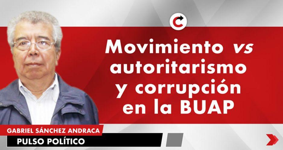 Movimiento vs autoritarismo y corrupción en la BUAP