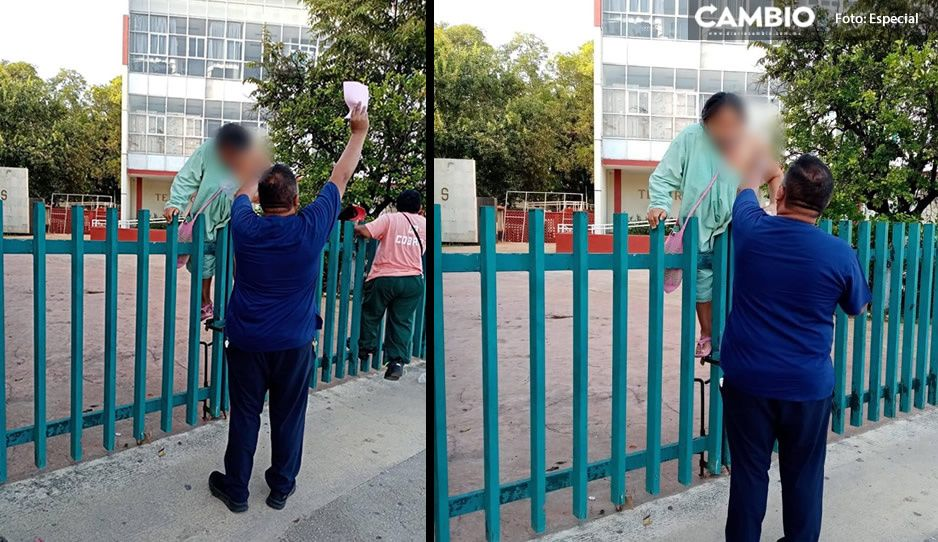 Con bata y suero conectado, paciente intenta escapar del IMSS en Campeche