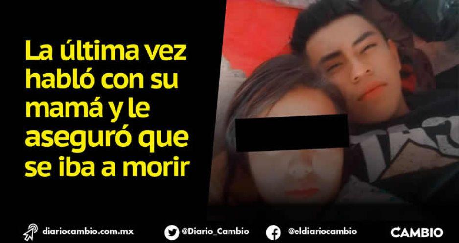Alberto Mani desapareció en Atlixco, sospechan del ex de su novia Mary