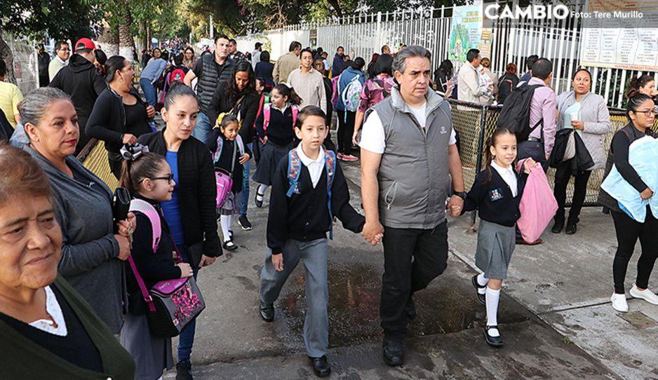 Rescata SEP a 3 mil 850 alumnos de Puebla de abandonar sus estudios