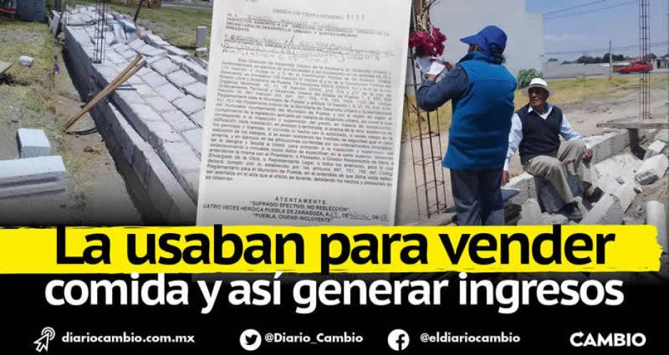 Ayuntamiento derrumba casa a dos abuelitos indígenas de Canoa por no tener permisos