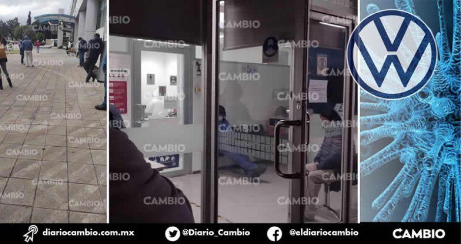 VW contiene la pandemia en la planta con un pequeño consultorio (FOTOS Y VIDEO)