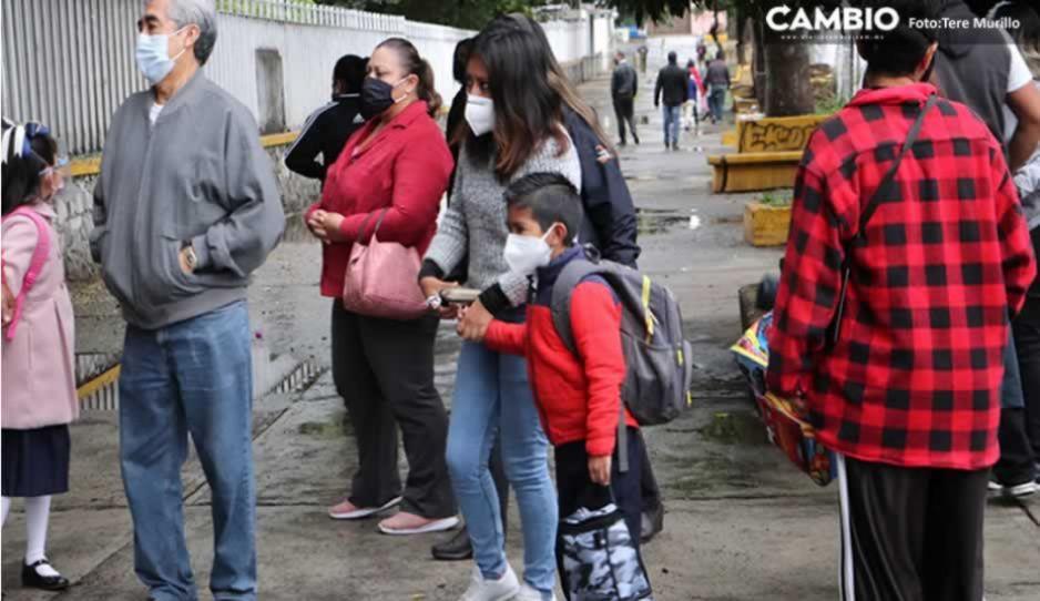 ¡Alarmante! Puebla tiene más de un centenar de contagios en escuelas; detectan 19 nuevos casos
