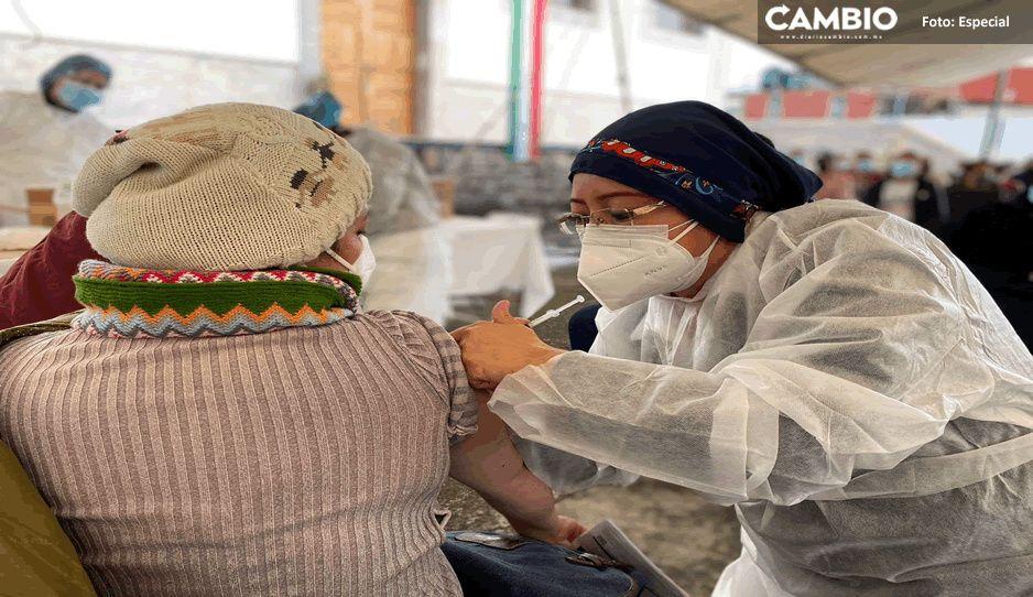 Respuesta masiva de personas entre 18 y 39 años a la vacuna Anticovid 19 en Teziutlán