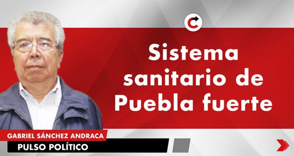 Sistema sanitario de Puebla fuerte