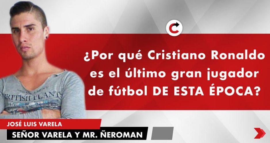 ¿Por qué Cristiano Ronaldo es el último gran jugador de fútbol DE ESTA ÉPOCA?