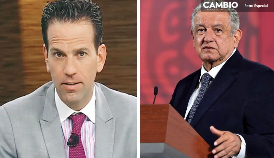 """Loret de Mola le refuta a AMLO: """"No tengo nada que esconder en caso Vallarta-Cassez"""""""