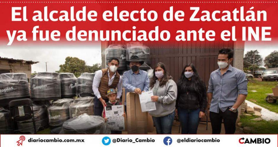 Pepe Márquez entrega dádivas poselectorales con Fundación Rotoplas que no existe (VIDEO)