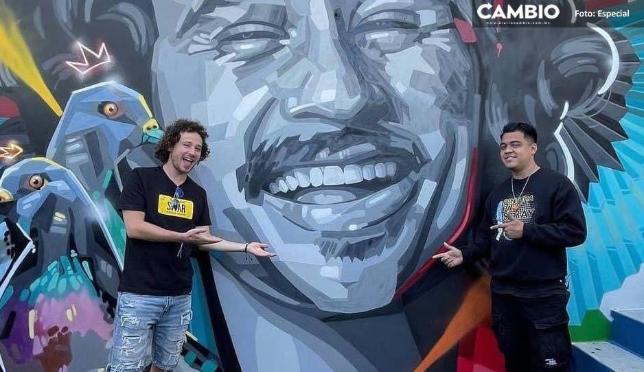 Inmortalizan a Luisito Comunica en El Salvador; ya tiene su propio mural