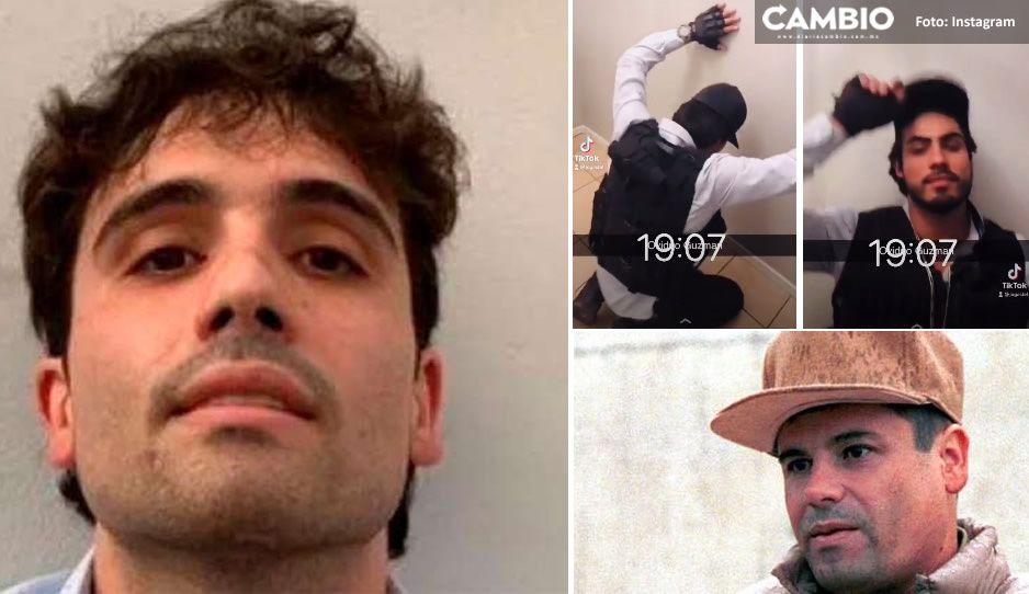 Aparece en redes un 'gemelo' de Ovidio Guzmán, hijo de El Chapo (VIDEO)