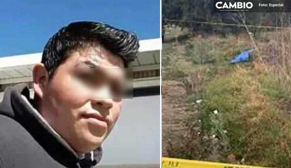 Tras ser reportado como desaparecido, encuentran muerto a Israel en predio Tlaltenango