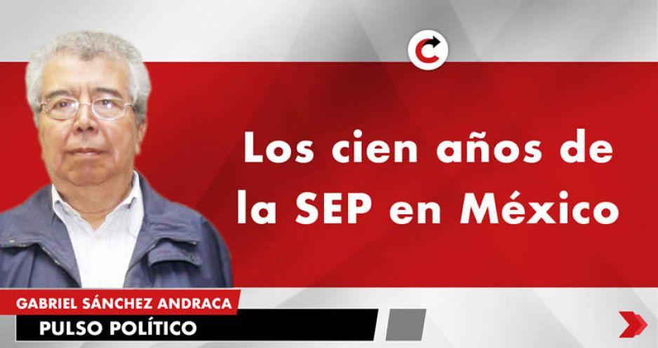 Los cien años de la SEP en México