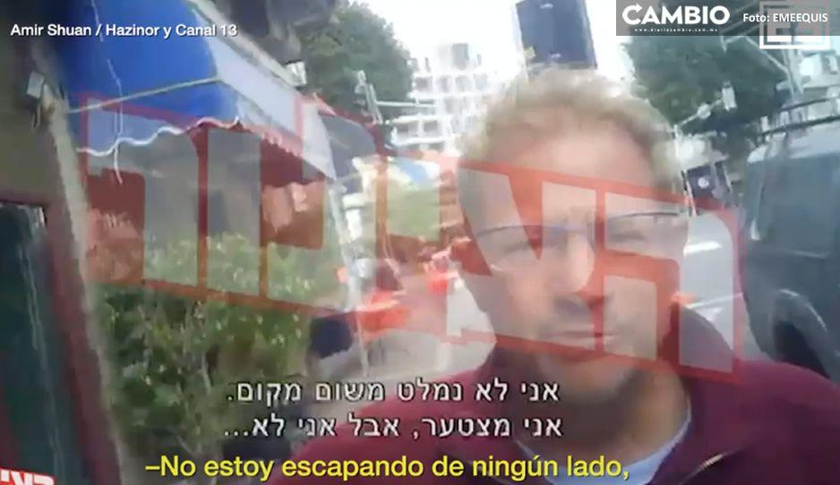 Encuentran al depredador sexual Roemer en Israel; así se escapó de la policía (VIDEO)
