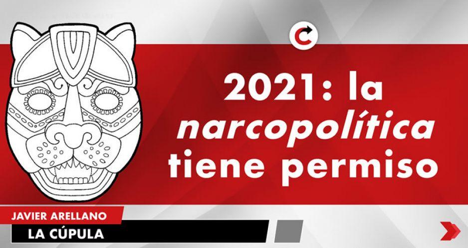 2021: la narcopolítica tiene permiso