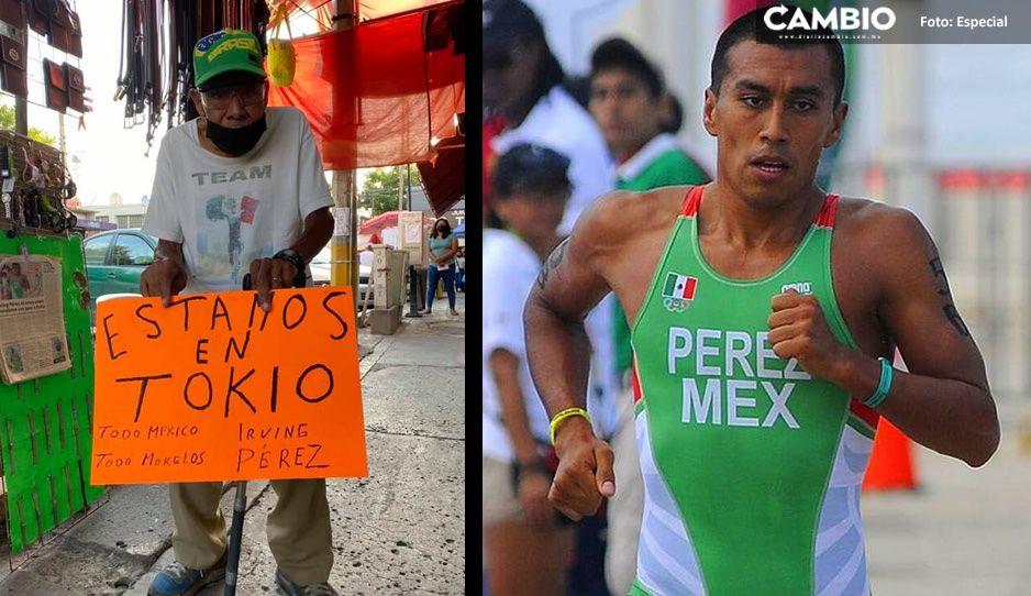 Don Hermilio apoya con emotivo mensaje a su nieto Irving Pérez; competirá en Tokio 2020 (FOTOS)
