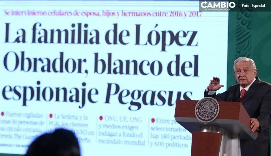 'El Gallo': el apodo con el que Peña Nieto espiaba a AMLO con el software Pegasus