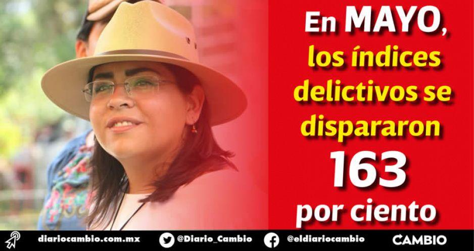Xicotepec fue víctima de la delincuencia mientras Lupe Vargas buscaba la reelección